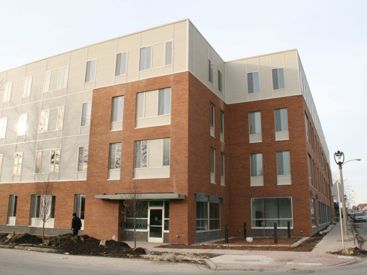 Friday Photos: Ingram Place Nearly Complete
