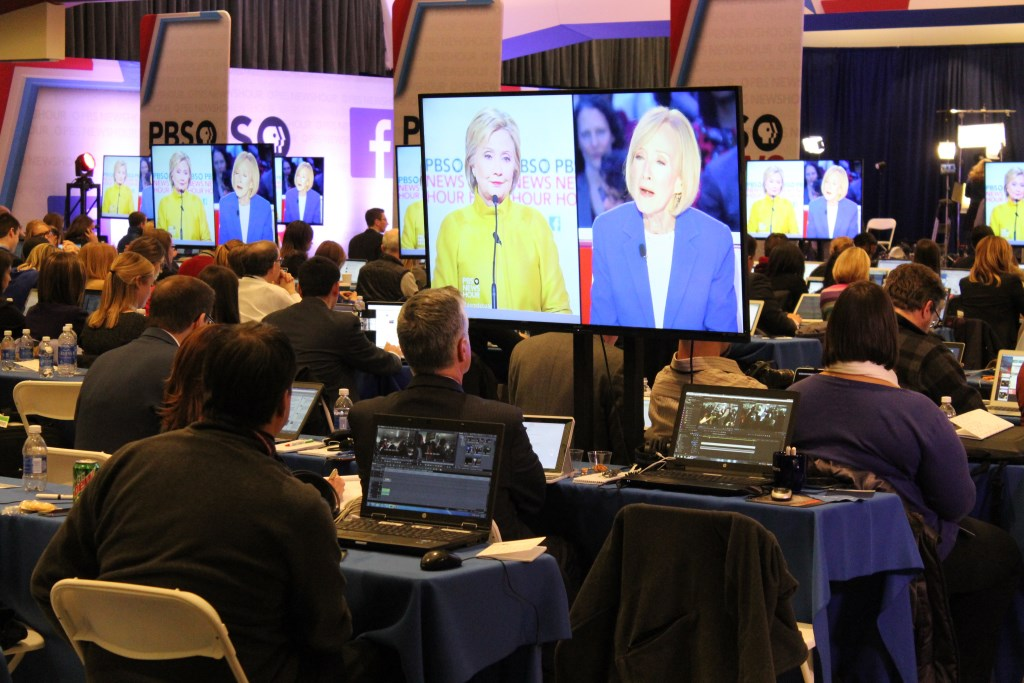 The Spin Room. Photo by Jim Cryns.