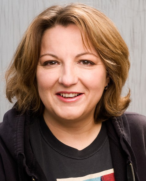 Jackie Kashian. Photo courtesy of the South Milwaukee Performing Arts Center.