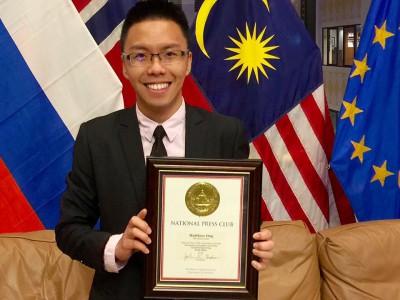 MU Grad Wins National Press Awards