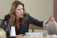 State Rep. Chris Taylor, D-Madison, on Friday announced she plans to introduce a bill with Rep. LaTonya Johnson, D-Milwaukee, that would require the state Department of Health Services to test drinking water when a child is lead poisoned. Photo by M.P. King of the Wisconsin State Journal.