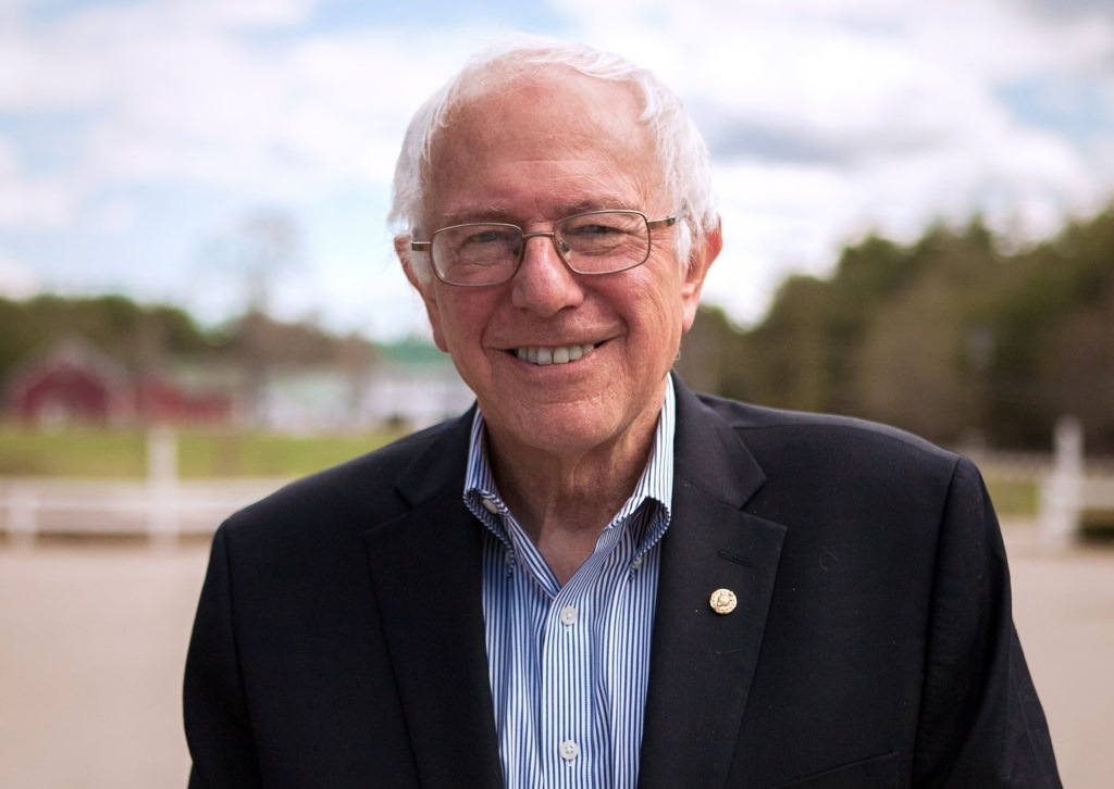 Bernie Sanders. Photo courtesy of Bernie 2016.