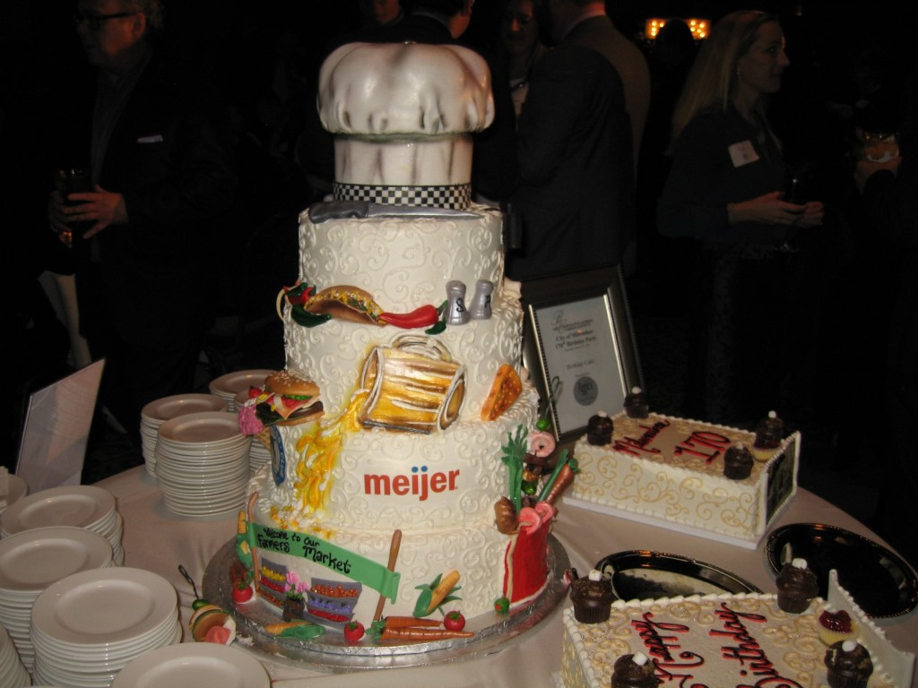 City of Milwaukee Birthday Cake. Photo by Michael Horne.
