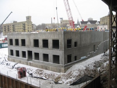 Friday Photos: River House Apartments Rising Quickly