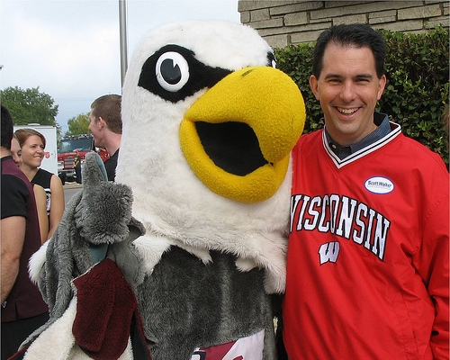 Wisconsin Governor Walker, Florida Governor Scott Place Friendly Wager Over the Orange Bowl