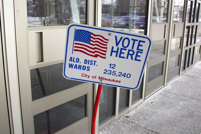 Aldermanic elections will take place on Tuesday, April 5. Photo by Emmy Yates.