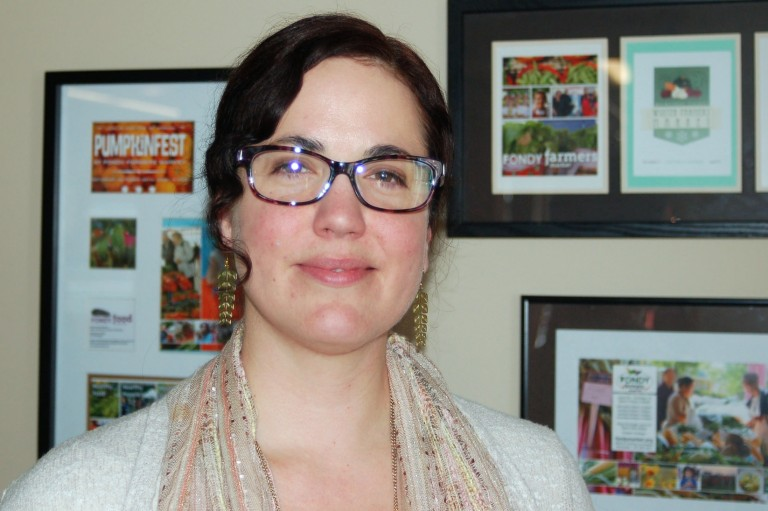 Jennifer Casey is the new executive director of the Fondy Food Center. Photo by Andrea Waxman.