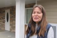 Debbie Davis lives near a new residence for people living with mental illness and believes that interaction between residents and community members reduces stigma. Photo by Matthew Wisla.