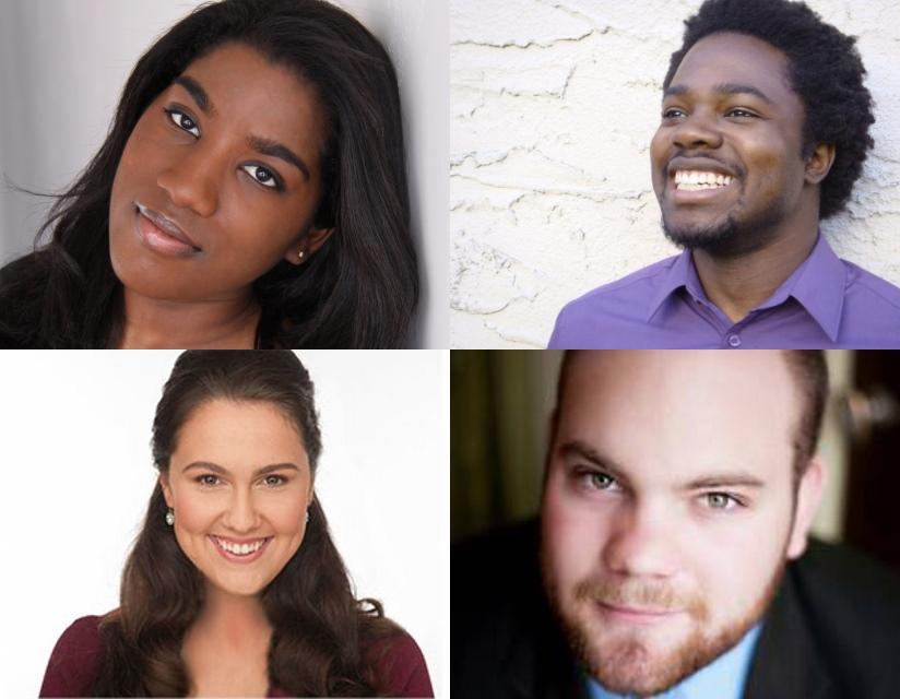 Ariana Douglas, Leroy Y. Davis, Katherine Fili and Thomas Leighton.