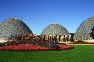 The Domes. Photo courtesy of the Park People of Milwaukee.