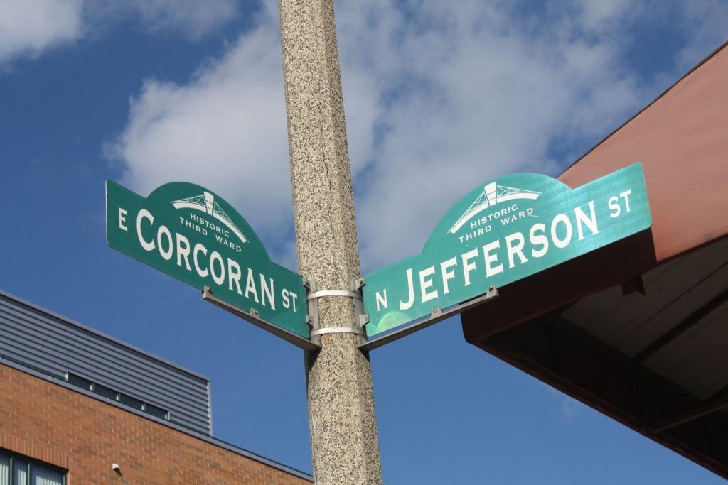 Corcoran St? Photo by Carl Baehr.