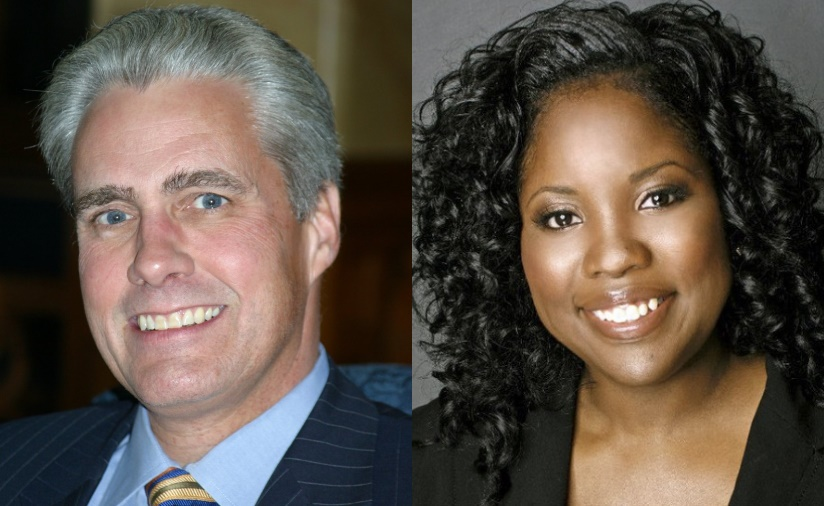 Bob Bauman and Monique Kelly (Taylor).