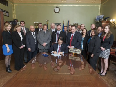 Craig Wood Stove Freedom and Credit Union Modernization Bills Signed into Law