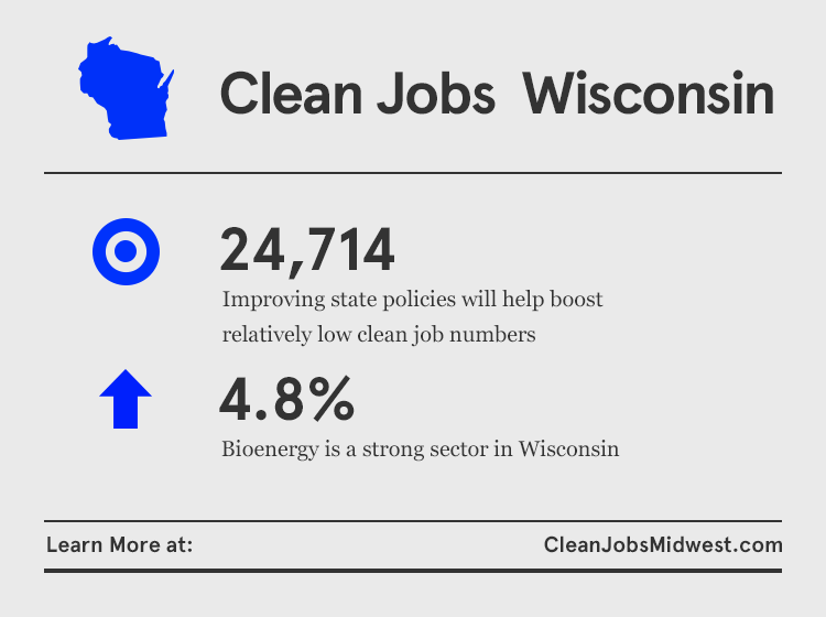 New Report: Nearly 25,000 Clean Energy Workers in Wisconsin