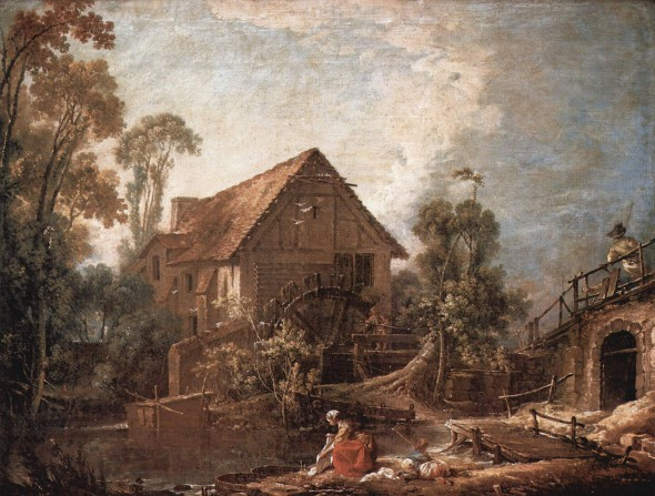 Die Muhle (The Mill) by Francois Boucher