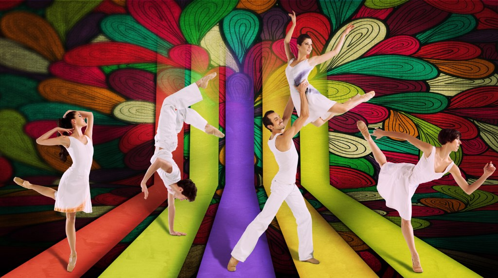 Milwaukee Ballet Company: Kaleidoscope Eyes. Photo by Tom Davenport.