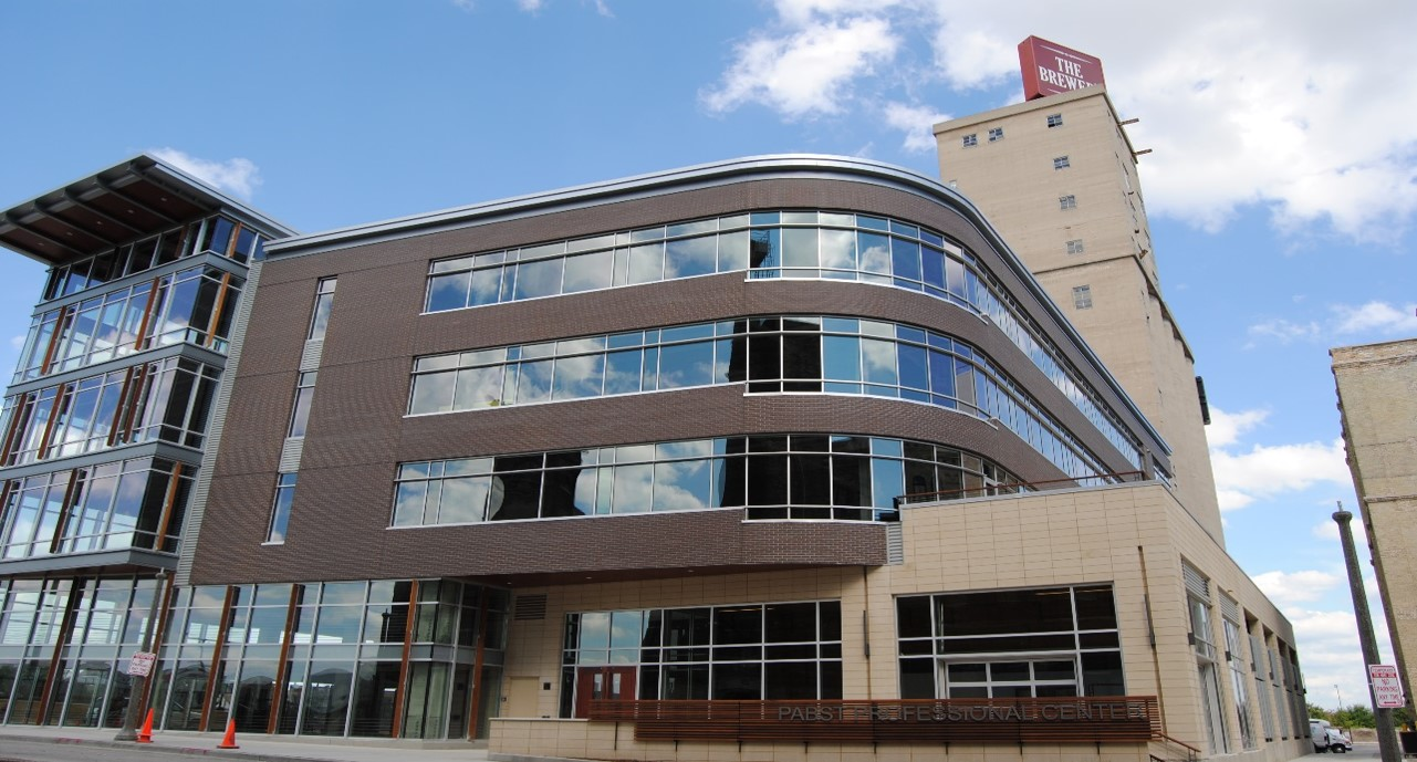 Pabst Professional Center. Photo courtesy of  SafeNet Consulting Inc.
