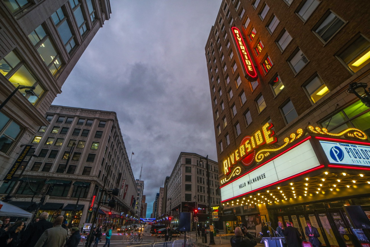 Riverside Theater. Photo courtesy of the Pabst Theater Group.