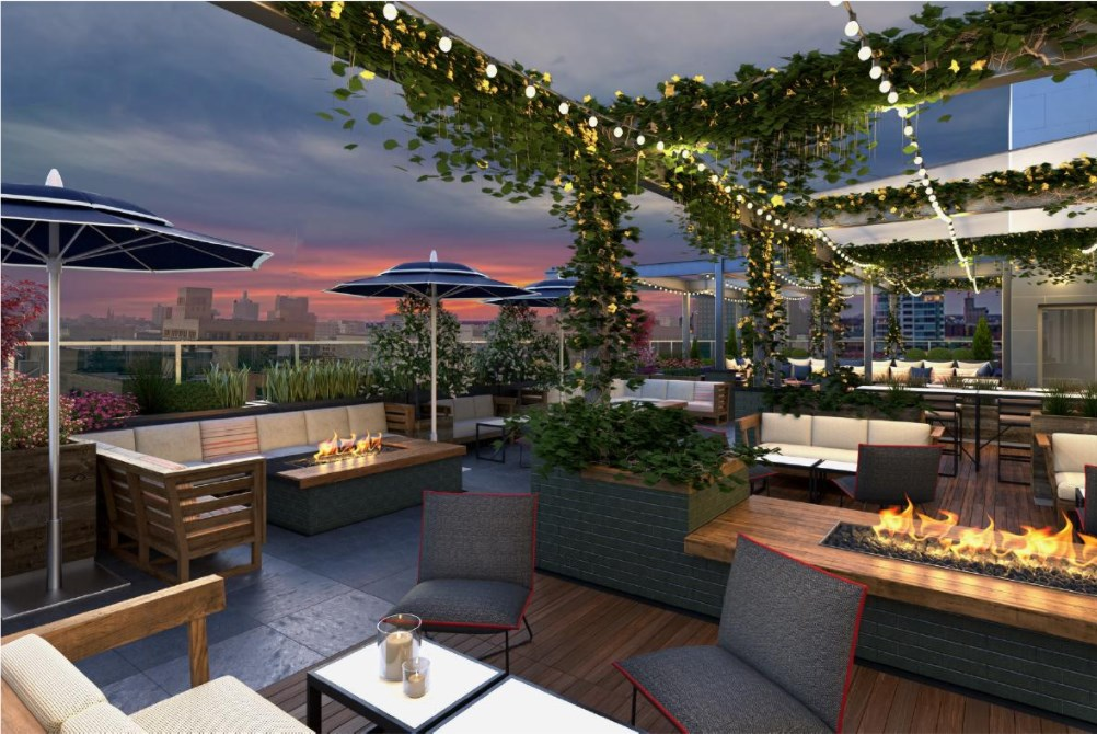 New milwaukee restaurant and rooftop bar lounge opening for Open terrace restaurants