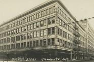 Boston Store, Mid-1920s. Image courtesy of Jeff Beutner.