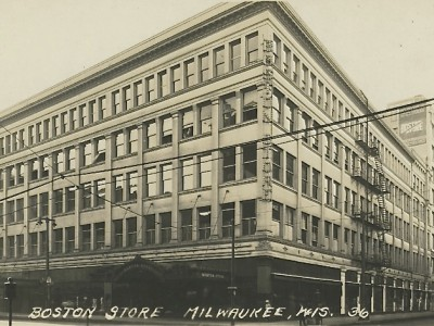 Yesterday's Milwaukee: Boston Store, Mid-1920s