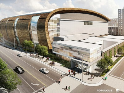 Bucks Release New Arena Renderings Ahead of Design Submission to City