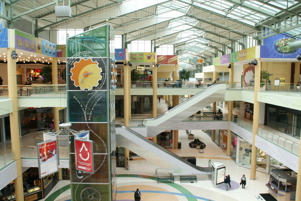 Shops of Grand Avenue Mall. Photo by Jeramey Jannene.