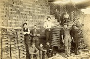 Cream City Brick Workers, 1885. Image courtesy of Jeff Beutner.