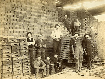 Yesterday's Milwaukee: Cream City Brick Workers, 1885