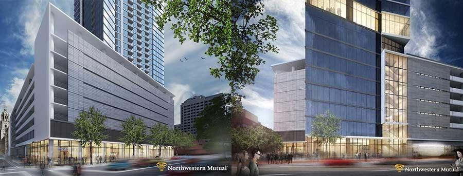 New Northwestern Mutual Apartment Tower