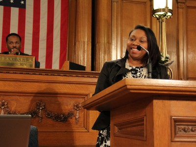 Chantia Lewis Backs Ashanti Hamilton for Common Council President