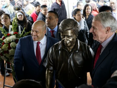 Statue of Cesar Chavez Unveiled