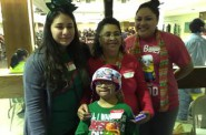 Diana, Maria, Fatima and Diego named Volunteer Family of the Year at ALAS End-of-Year celebration. Photo courtesy of the Nonprofit Center of Milwaukee.