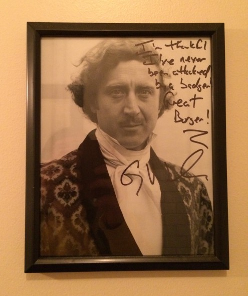 Gene Wilder. Photo by Joey Grihalva.