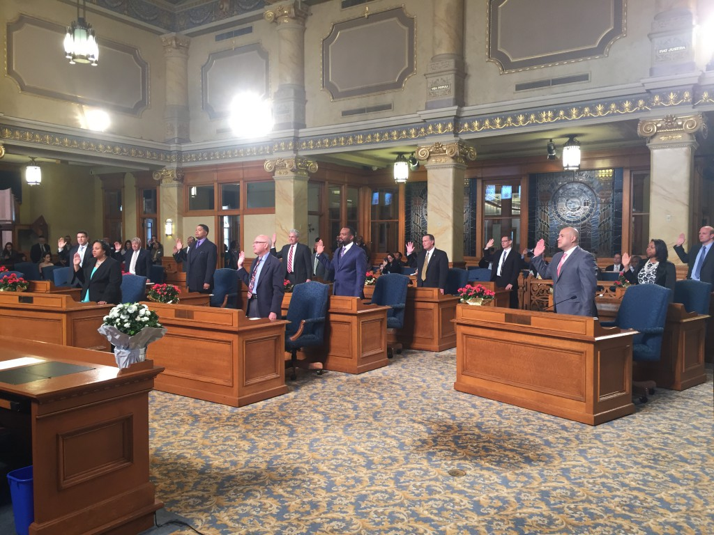 2016-2020 Milwaukee Common Council being sworn in