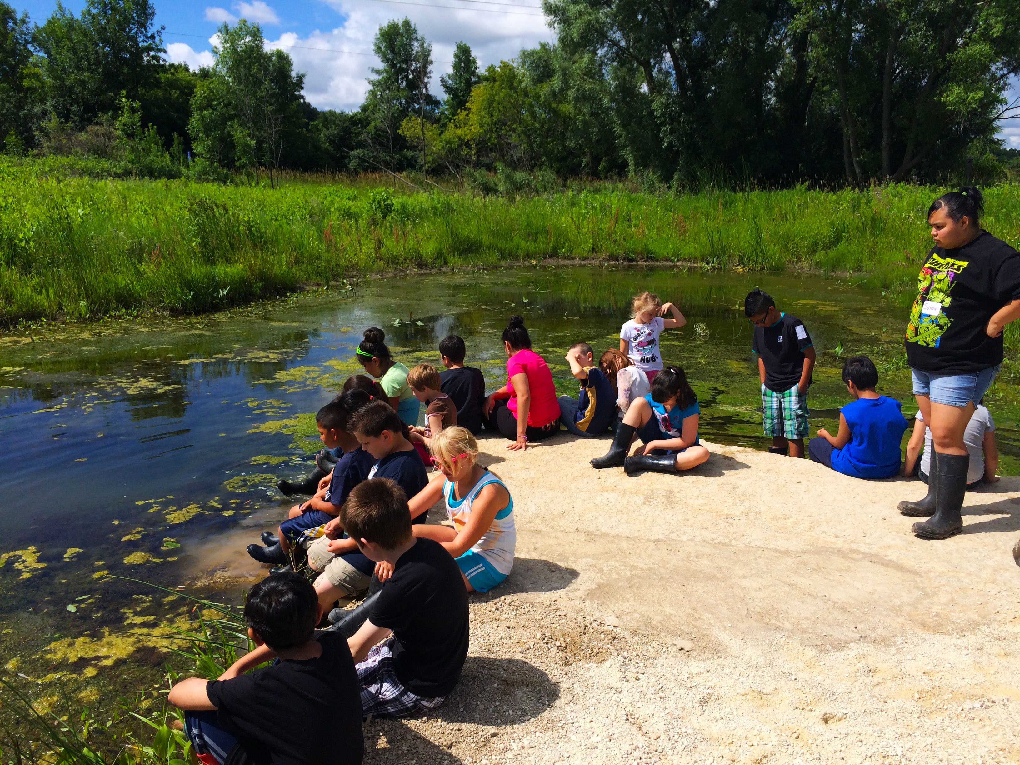 Mequon Nature Preserve. Photo courtesy of MMSD.