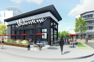 Valentine Coffee Rendering
