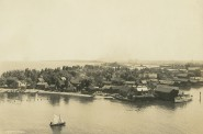 Jones Island Fishing Village, 1898. Image courtesy of Jeff Beutner.