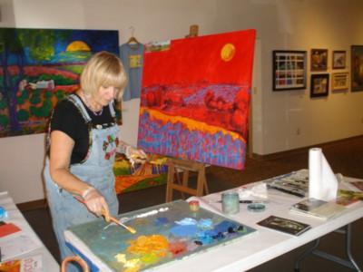 Paint Your Art Out: Live Painting Event, Exhibit & Artist Celebration Fundraiser