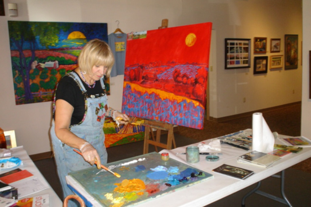 Paint Your Art Out: Live Painting Event, Exhibit & Artist Celebration Fundraiser