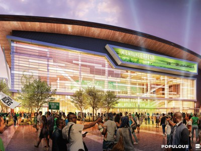 Bucks Name Design Team for Entertainment Block of New Arena Development