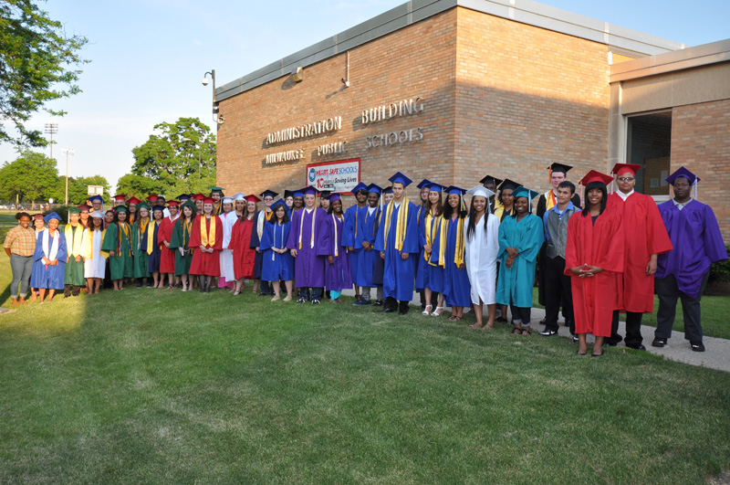 MPS valedictorians and salutatorians from the class of 2015