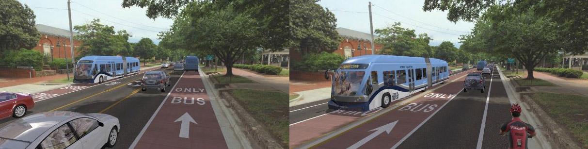 Bus Rapid Transit Potential Alignments
