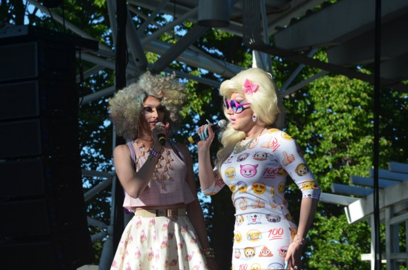 PrideFest 2015. Photo by Jack Fennimore.