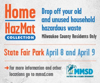 Get Rid of Nasty Household Chemicals Friday & Saturday at State Fair Park