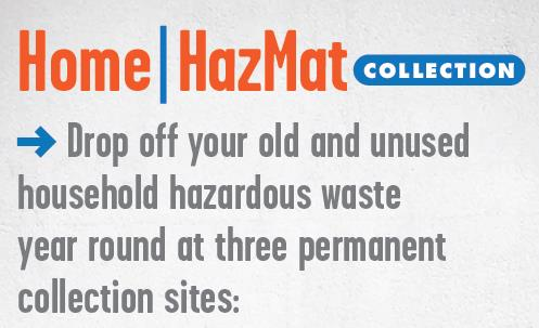 MMSD Home HazMat Collections All Year Long