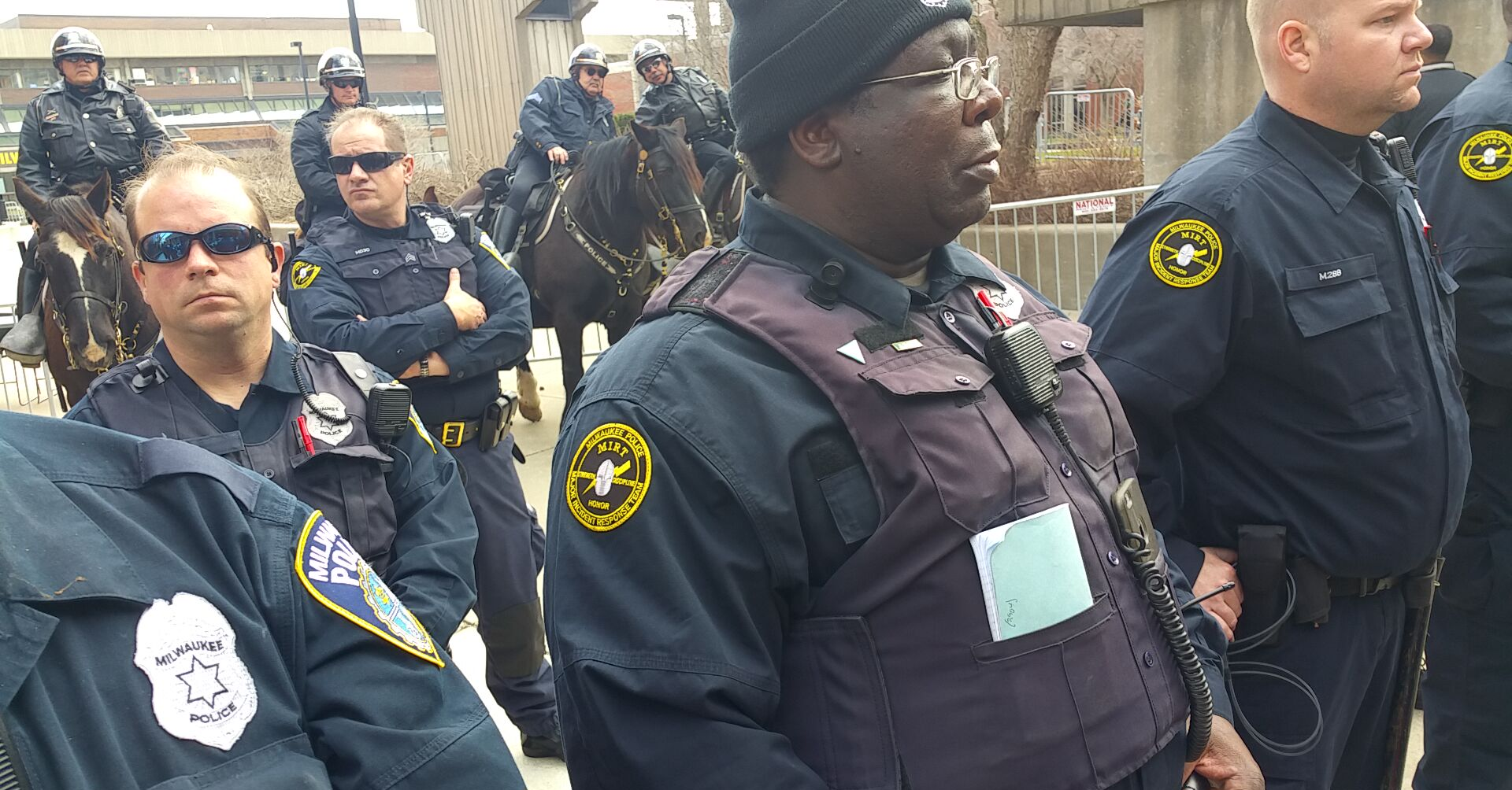 Statement from ACLU of Wisconsin on MPD's Covered Nametags at Protest