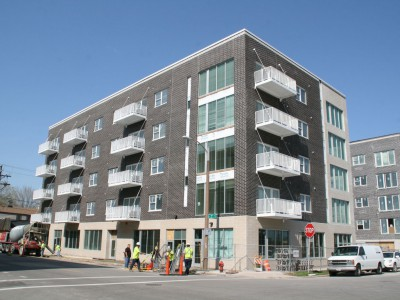 Friday Photos: Gokhman's Transit-Oriented Apartments
