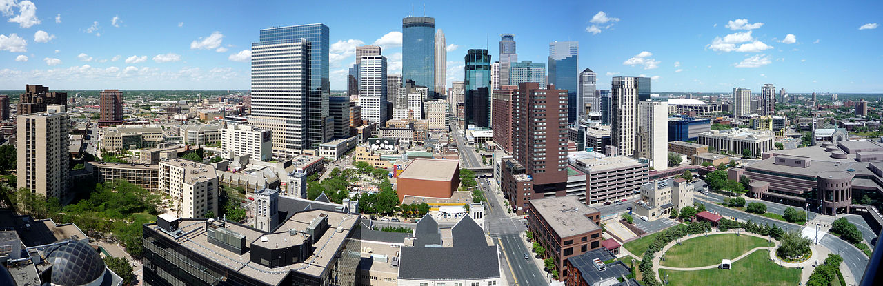 Minneapolis. Photo by Bobak Ha'Eri (Own work) [CC BY 3.0 (http://creativecommons.org/licenses/by/3.0)], via Wikimedia Commons