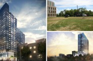 Renderings and Site Photo for The Portfolio